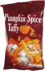 Pumpkin Spice Taffy