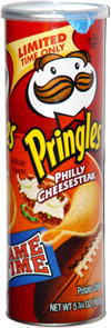 Pringles Game Time Philly Cheesesteak