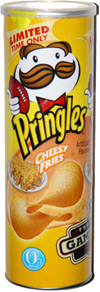 Pringles Cheesy Fries Potato Crisps