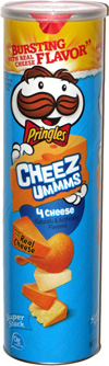 Pringles Cheez-Ummms 4 Cheese