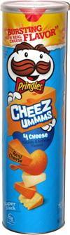 Pringles Cheez-Ummms 4 Cheese