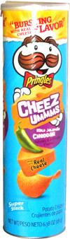 Pringles Cheez Ummms Mild Jalapeño Cheddar