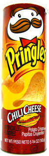 Pringles Chili Cheese Potato Crisps