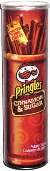 Pringles Cinnamon & Sugar