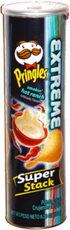Pringles Extreme Smokin' Hot Ranch