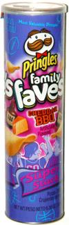 Pringles Family Faves Cheddar BBQ