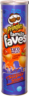 Pringles Family Faves Taco Night