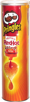 Pringles Frank's Red Hot Wing Buffalo