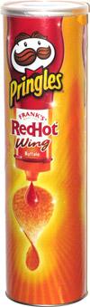 Pringles Frank's Red Hot Wing Buffalo