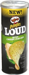 Pringles Loud Super Cheesy Italian