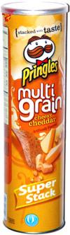 Pringles Multi Grain Cheesy Cheddar
