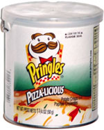 Pringles Pizza-licious Potato Crisps