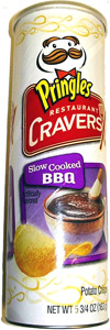 Pringles Restaurant Cravers Slow Cooked BBQ