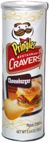 Pringles Restaurant Cravers Cheeseburger