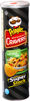 Pringles Restaurant Cravers Mexican Layered Dip
