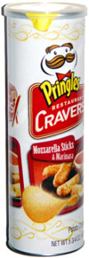Pringles Restaurant Cravers Mozzarella Sticks & Marinara