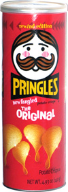 Pringles Rewind Edition Newfangled Potato Crisps The Original