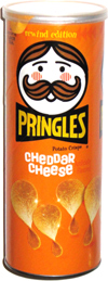 Pringles Rewind Edition Cheddar Cheese