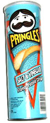 Pringles Salt & Vinegar Potato Crisps
