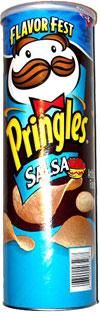Pringles Salsa Potato Crisps