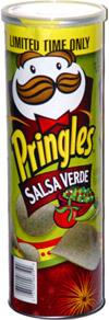 Pringles Salsa Verde Potato Crisps
