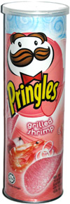 Pringles Grilled Shrimp
