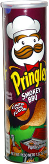 Pringles Smokey BBQ
