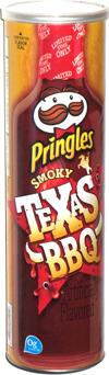 Pringles Smoky Texas BBQ