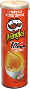 Pringles Nissin Top Ramen Chicken