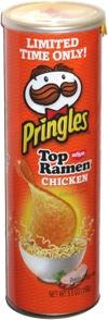 Pringles Nissin Top Ramen Chicken