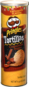 Pringles Tortillas Cinnamon Sugar