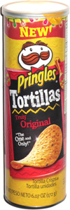 Pringles Tortillas Truly Original