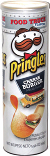 Pringles Food Truck Flavors Cheeseburger