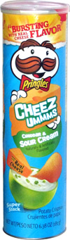 Pringles Cheez Ummms Cheddar & Sour Cream