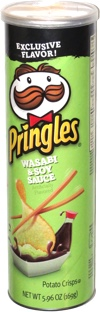 Pringles Wasabi & Soy Sauce
