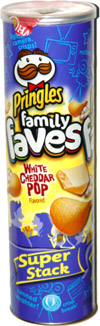 Pringles Family Faves White Cheddar Pop