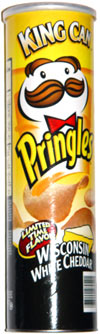 Pringles Wisconsin White Cheddar Potato Crisps