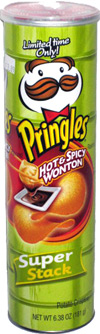 Pringles Hot & Spicy Wonton
