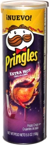 Pringles Extra Hot Chili & Lime