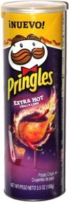Pringles Extra Hot Chili & Lime