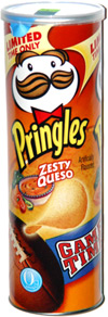 Pringles Game Time Zesty Queso