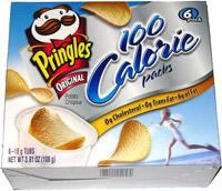 Pringles 100 Calorie Packs Original