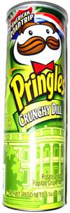 Pringles Crunchy Dill Potato Crisps