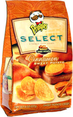 Pringles Select Cinnamon Sweet Potato Crisps