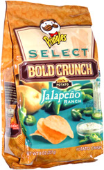 Pringles Select Bold Crunch Jalapeno Ranch