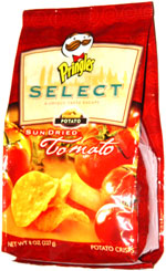 Pringles Select Sun Dried Tomato Potato Crisps