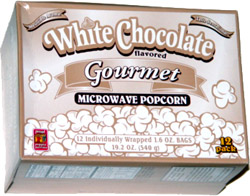 Proud Poppin' Parents White Chocolate Flavored Gourmet Microwave Popcorn