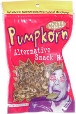 Pumpkorn Chili Alternative Snack Food