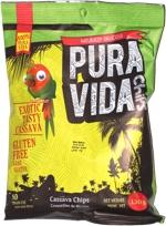 Pure Vida Chips Exotic Tasty Cassava