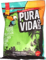 Pure Vida Chips Exotic Tasty Plantain